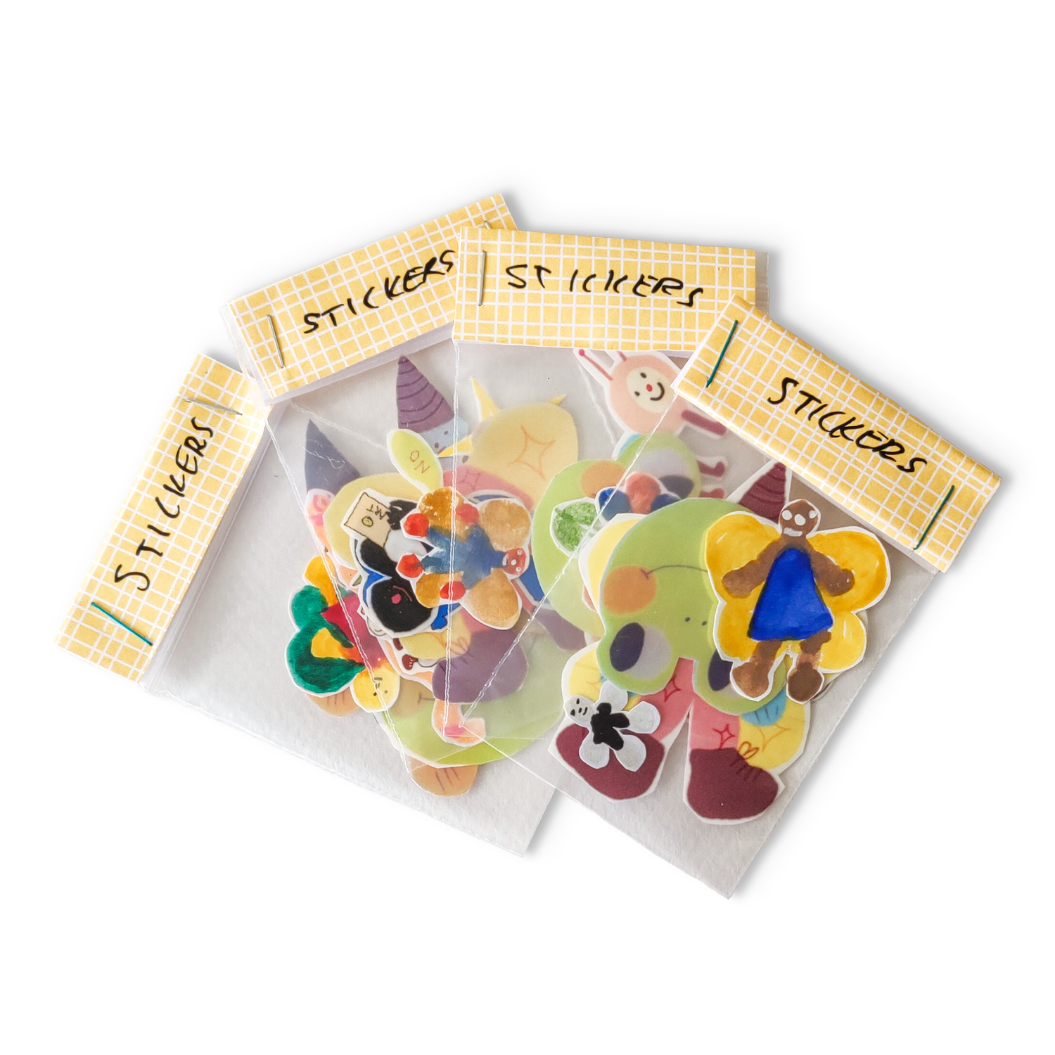 Image of dairysam Assorted Sticker Pack