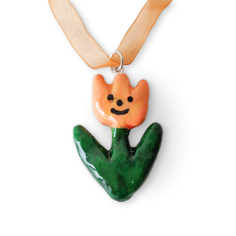 Image of dairysam Tulip Pendant Necklace