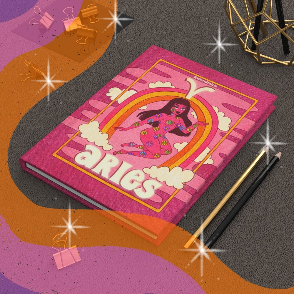 Image of ARIES ASTROLOGY JOURNAL