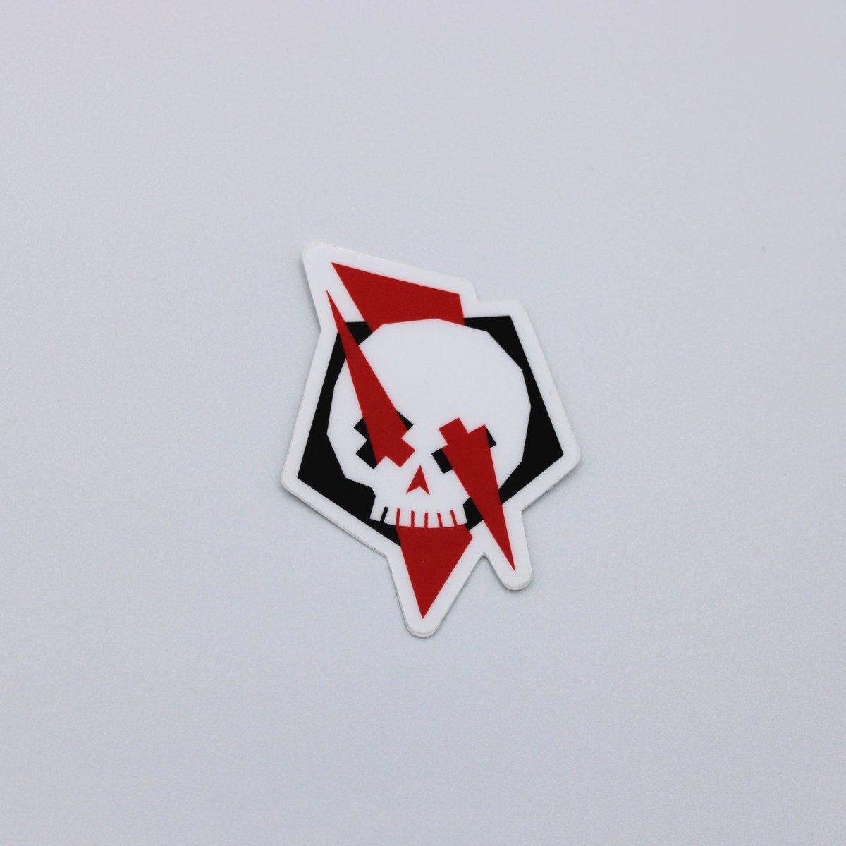 Skull Crossed Sticker