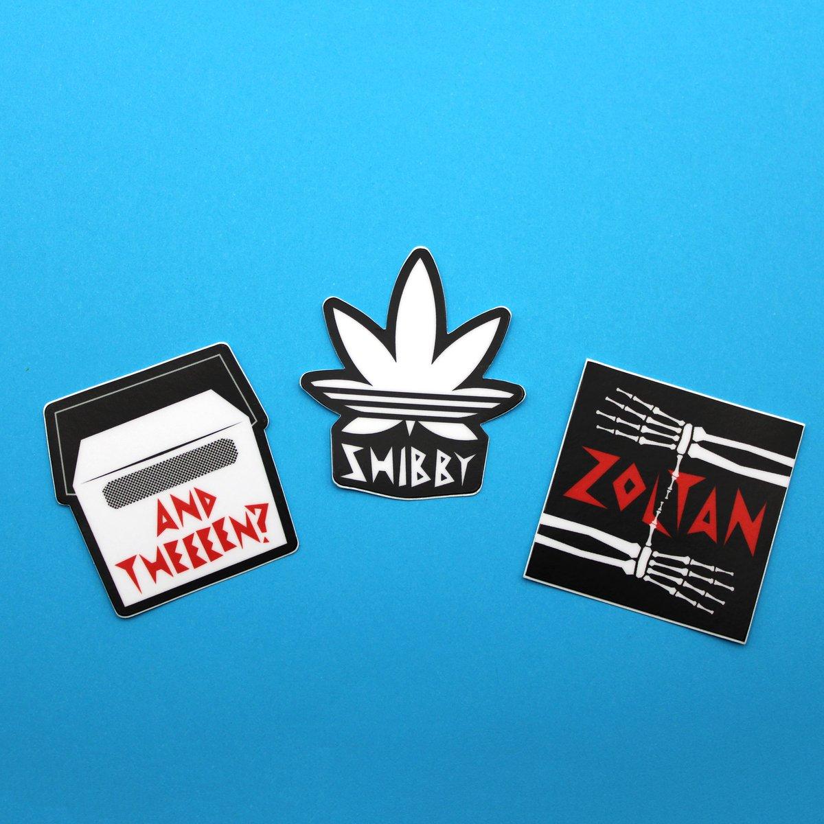 Shibby Stickers