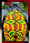 Designs By IvoryB Backpack Kente Yellow Ankara African Print