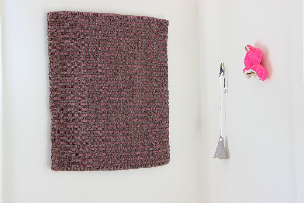 Image of Wall piece /•/ Interlock in Mauve & Bracken