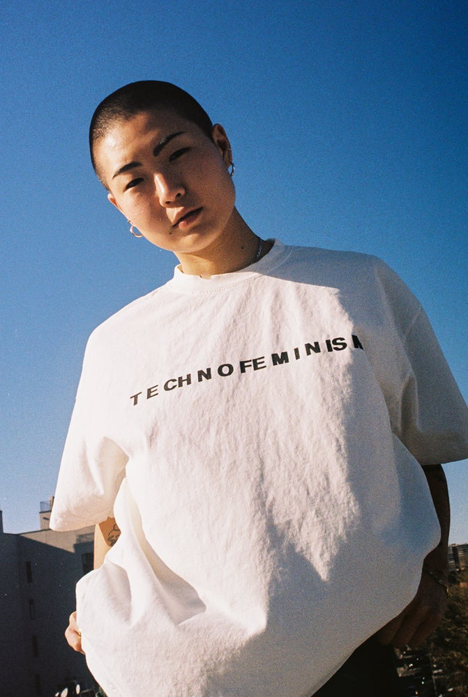 Image of T E CH N O FE M I N IS M LOGO TEE