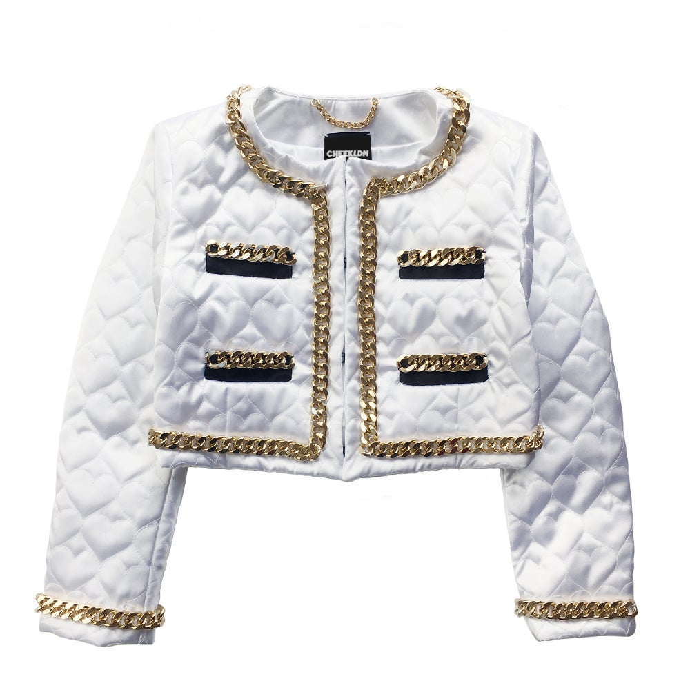 THE SWEETHEART CHAIN SUIT JACKET
