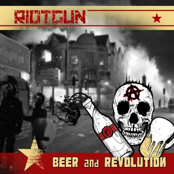 Image of Riotgun - Beer and Revolution LP