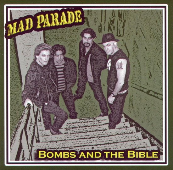 Image of Mad Parade - Bombs and the Bible LP