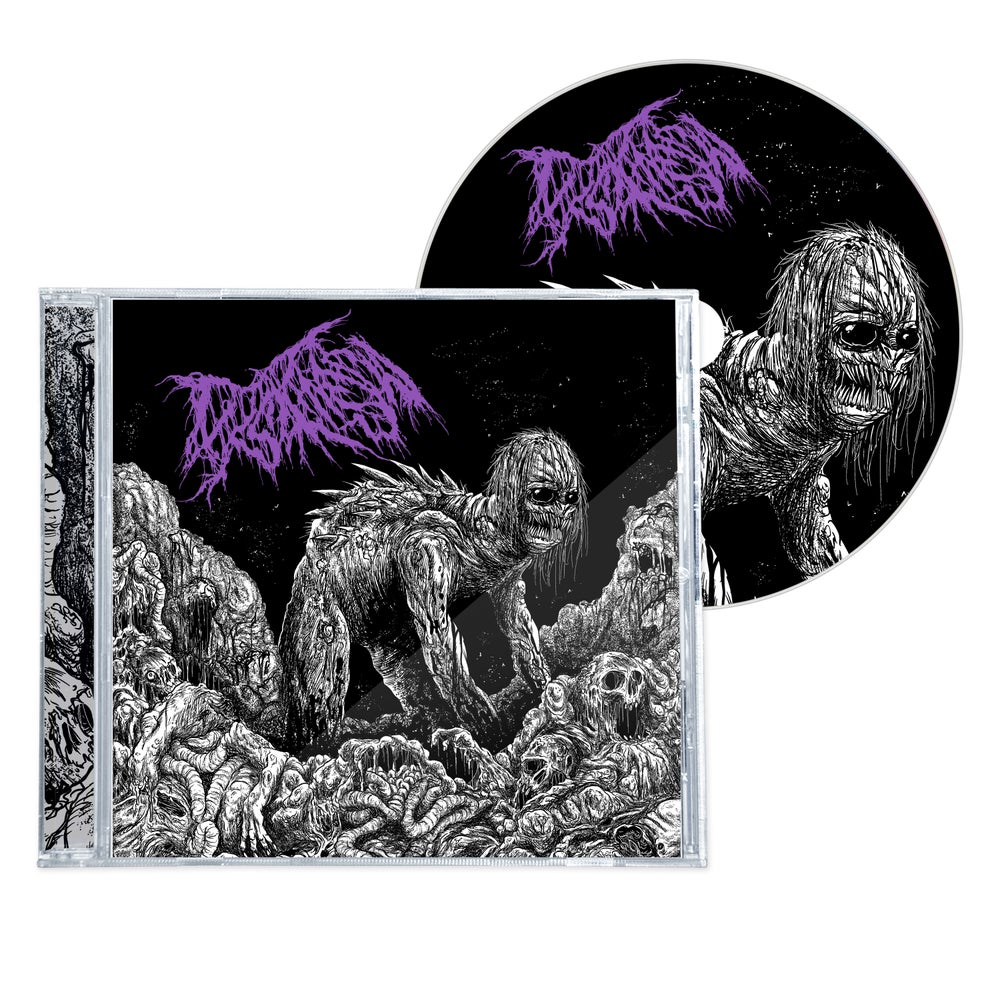"""Image of DYSKINESIA """"MICTURATING DEPOSITS OF GRIT THROUGH THE URINARY TRACT"""" EP CD"""