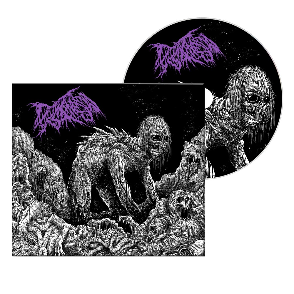 """Image of DYSKINESIA """"MICTURATING DEPOSITS OF GRIT THROUGH THE URINARY TRACT"""" DIGIPAK EP CD"""