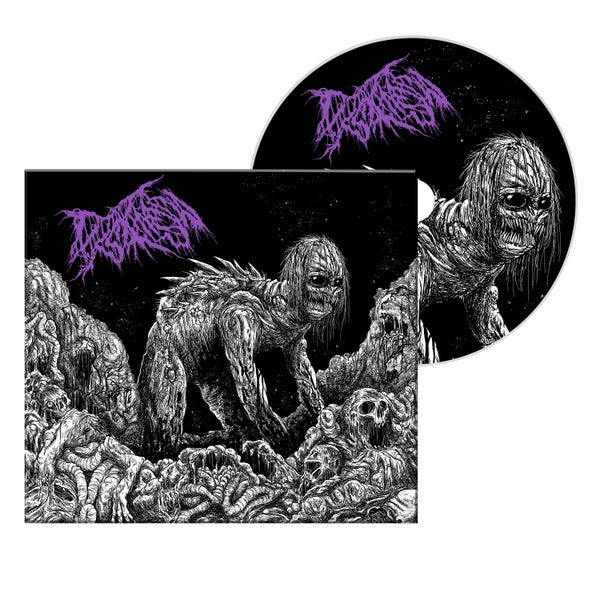 "Image of DYSKINESIA ""MICTURATING DEPOSITS OF GRIT THROUGH THE URINARY TRACT"" DIGIPAK EP CD"