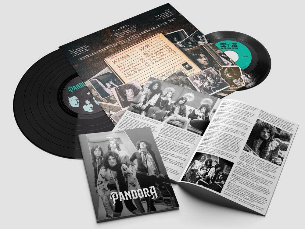 "Image of PANDORA - ""SPACE AMAZON"" LP + 7"" EP (1974)"