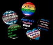 Image of LGBTQIA+ Buttons