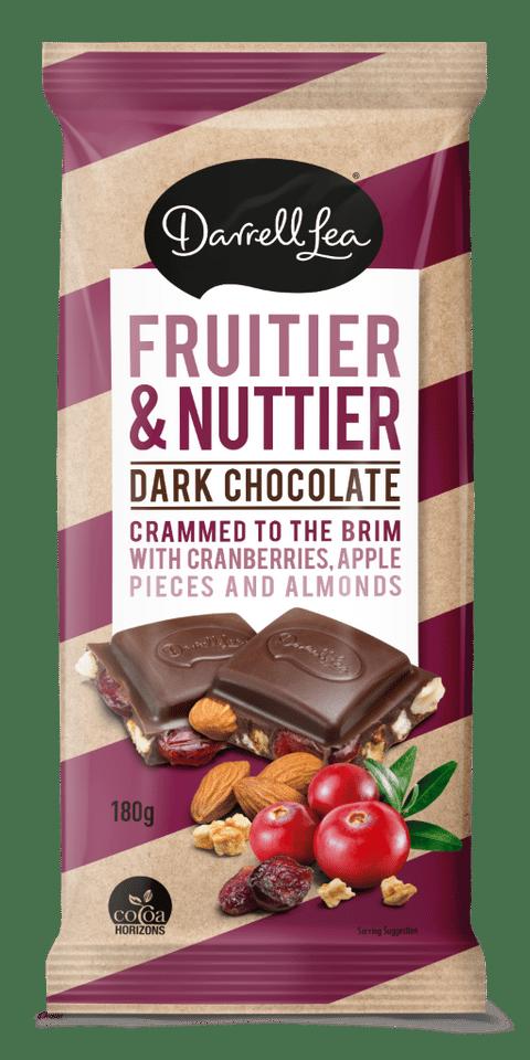 Image of DARK FRUITIER & NUTTIER BLOCK 180G