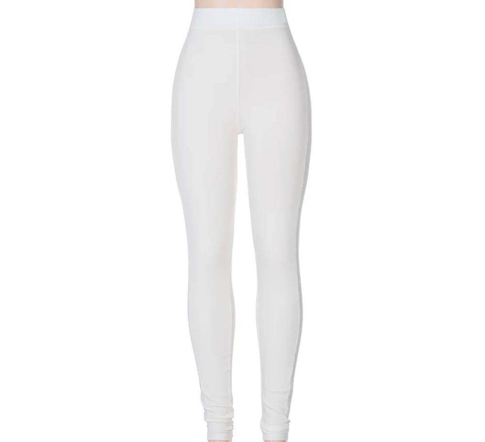Image of White | Leggings