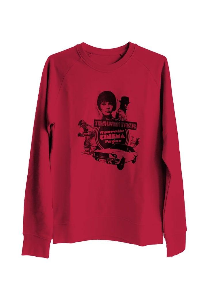 Traumathek Sweatshirt Red