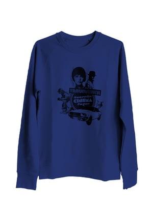 Traumathek Sweatshirt Majorelle Blue