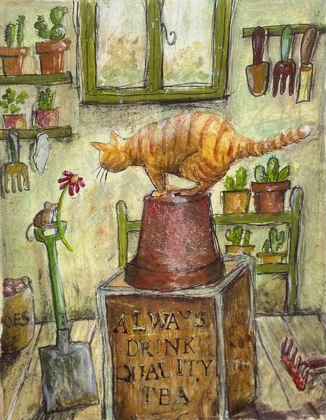 Image of Cat-Tea-Cacti
