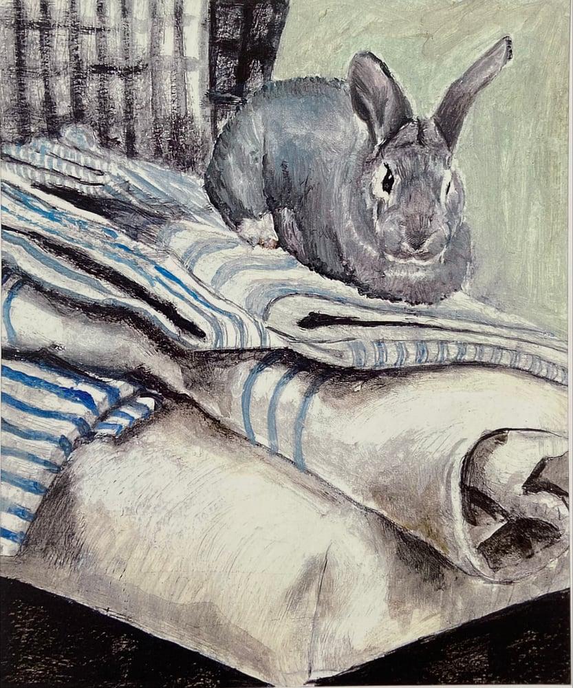 Image of Blue Bun