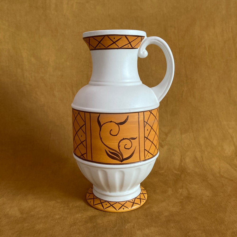 Image of Vintage Hand painted jug/vase