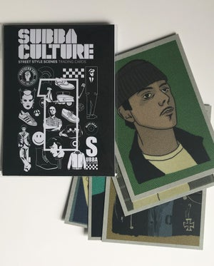 Image of Subbaculture Trading  Cards : Series 1 (Set of 3 packs)