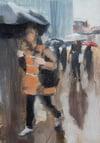 08.36 London Bridge, original oil painting