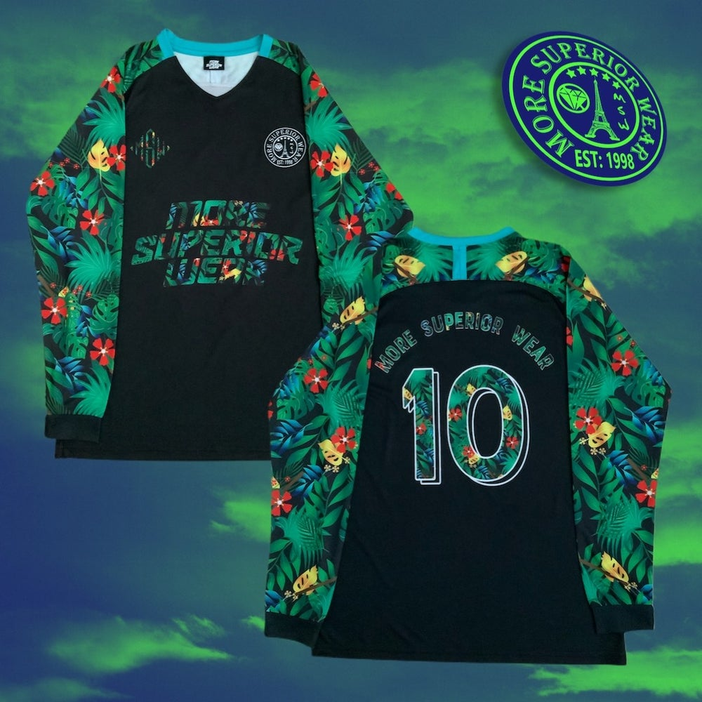 Floral MSW Football Jersey