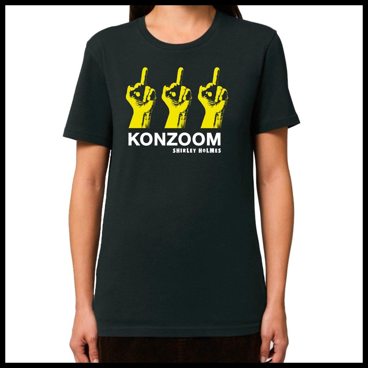 KONZOOM  Shirt  **UNISEX**  Black/Yellow
