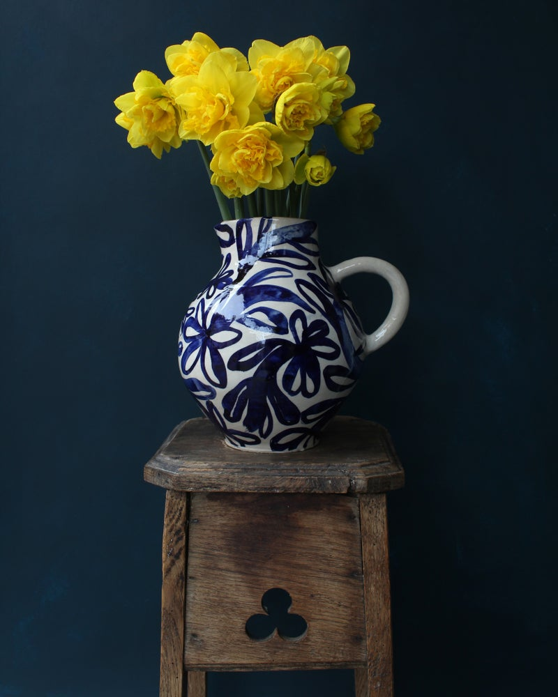 Image of Medium Cobalt Harvest Jug