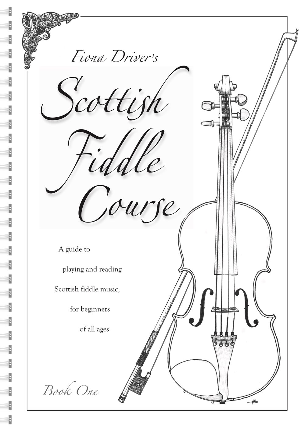 Image of Fiona Drivers Scottish Fiddle Course - book and 41 track CD (DOWNLOAD ALSO AVAILABLE)
