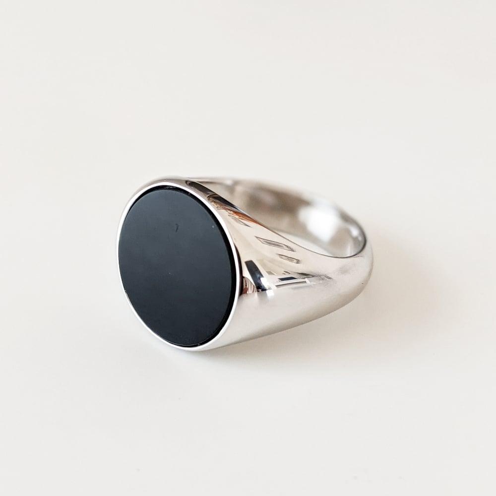 Image of Black Onyx Ring