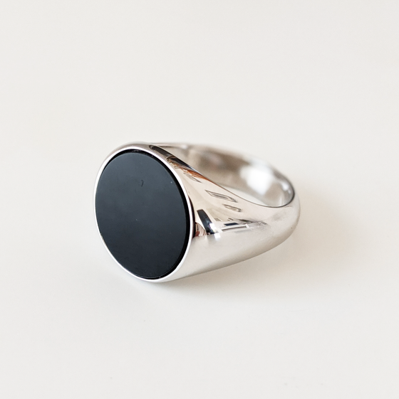 Image of Black Onyx Ring