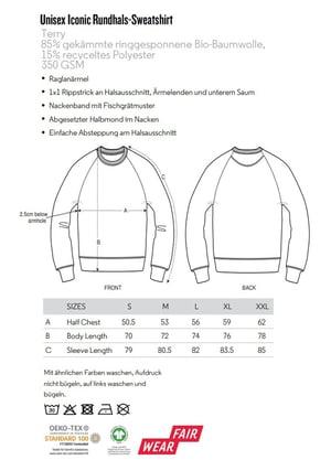 Traumathek Sweatshirt Natural Raw