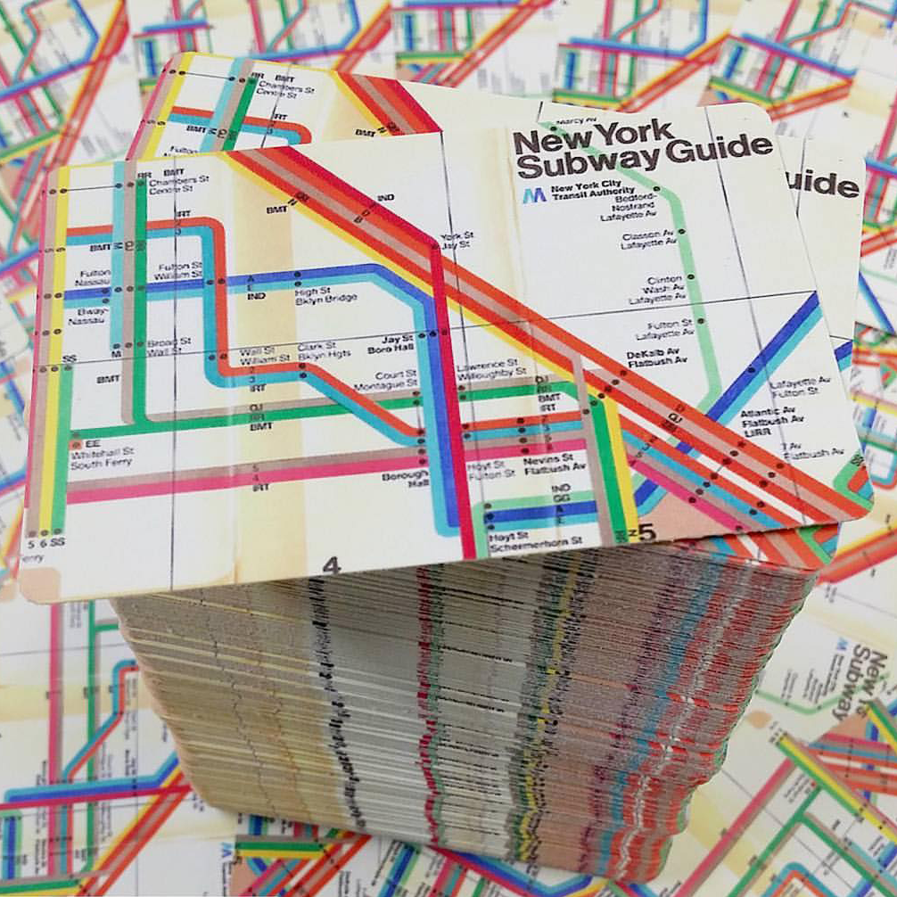 Image of New York Subway Map Blanks