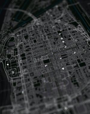 Image of Mannheim underground Karte