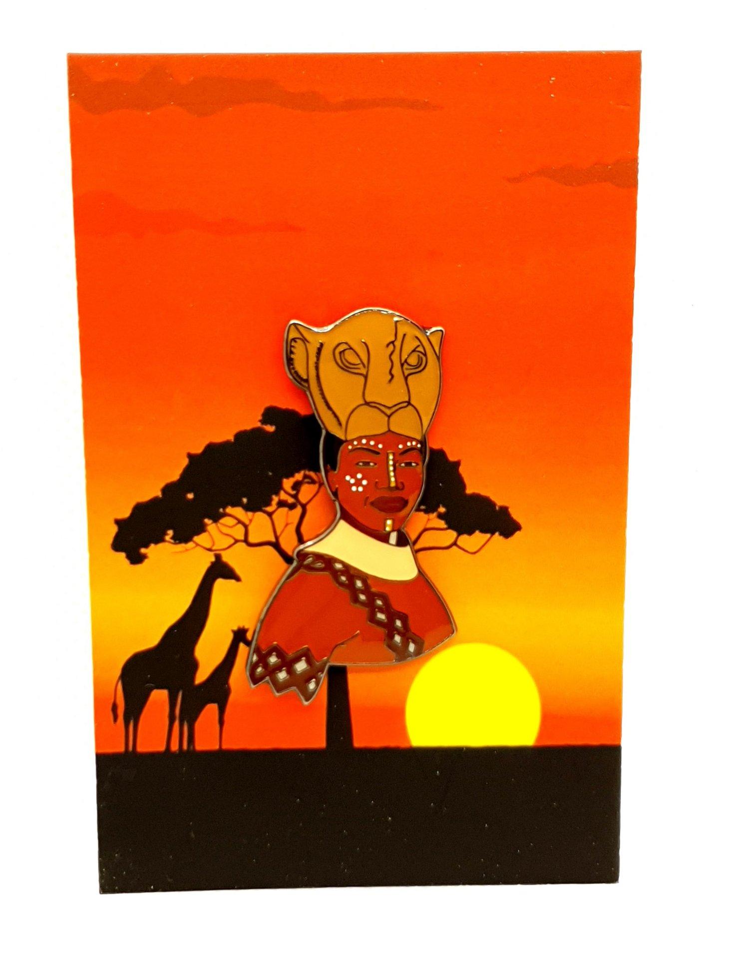 Nala From Lion King The Musical Enamel Pin