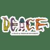 A PEACE & FREEDOM 5.5 Sticker