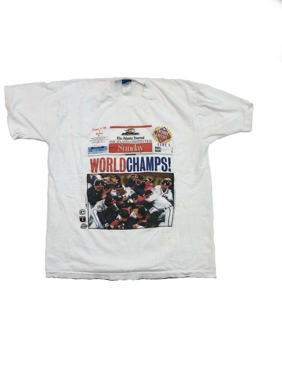 Image of Atlanta Braves 1995 World Champs Tee