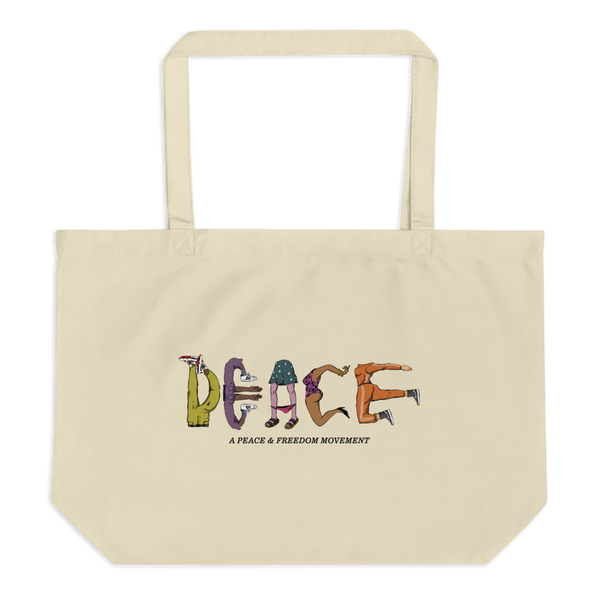 Image of A PEACE & FREEDOM Tote