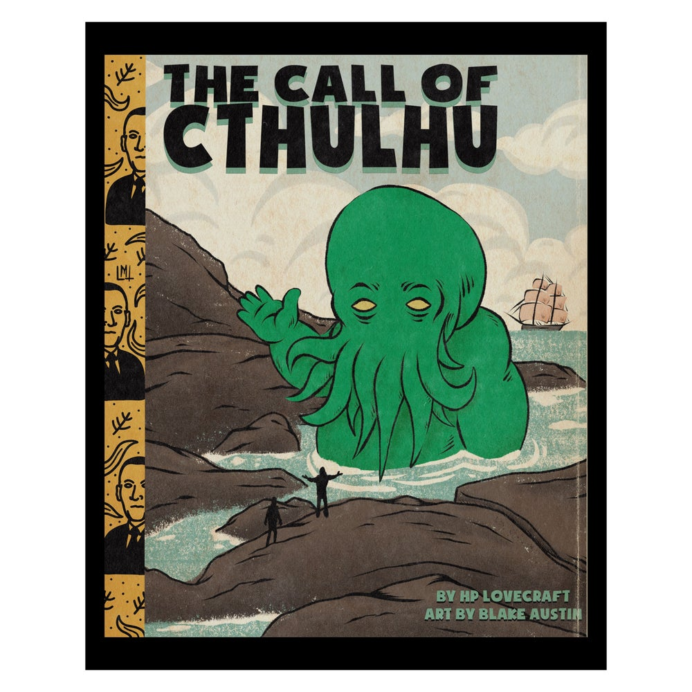 Image of The Call of Cthulhu 8 x 10 print