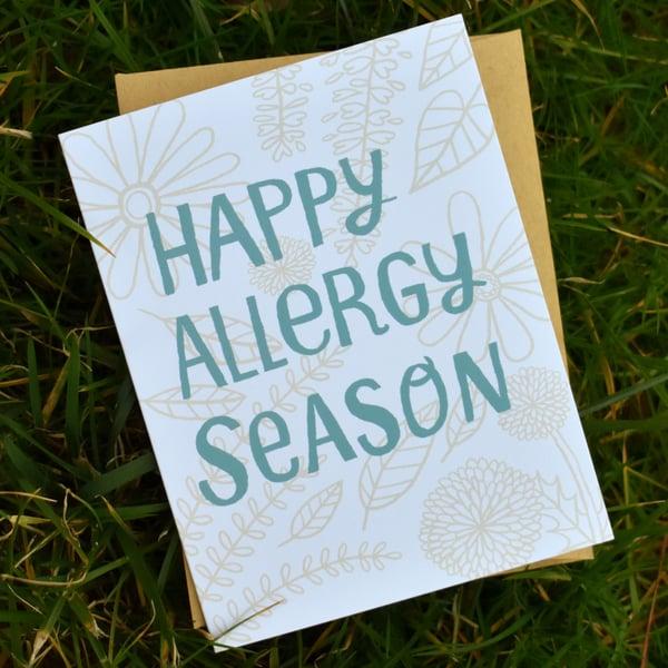Image of Happy Allergy Season Card