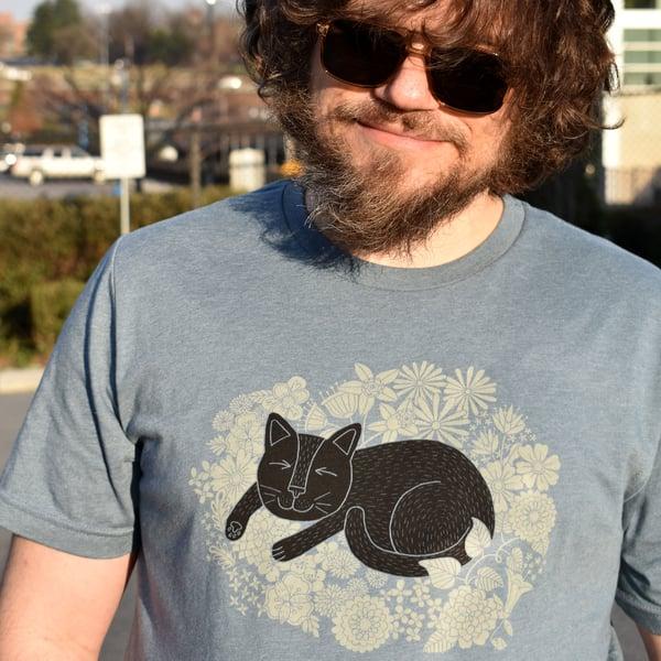Image of Spring Cat Nap T-Shirt