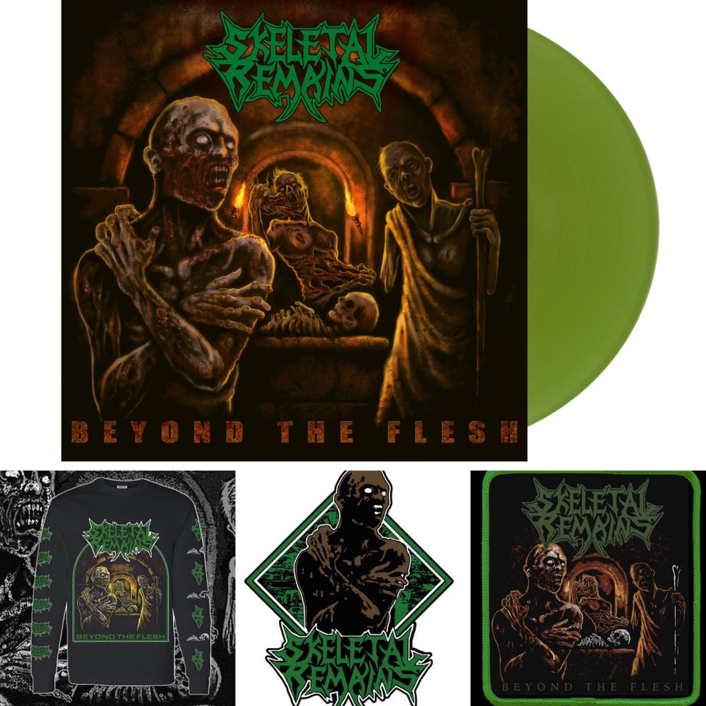 Beyond The Flesh Gatefold LP BUNDLE