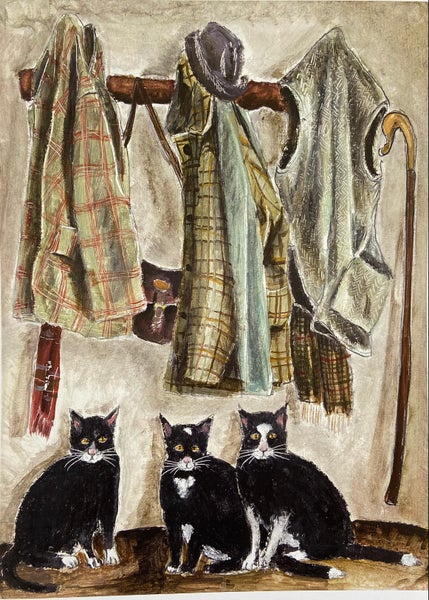Image of Cats and Coats