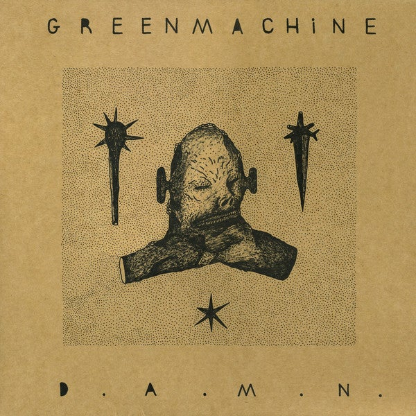 GREENMACHINE - D.A.M.N. / VINYL LP (ltd. 200) <em>Japan import</em>