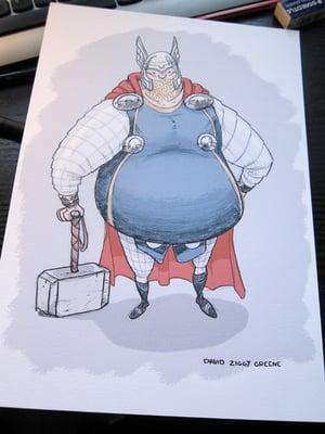 Chonky Thor print
