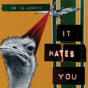 Image of HE IS LEGEND - 'It Hates You' (CD Album)
