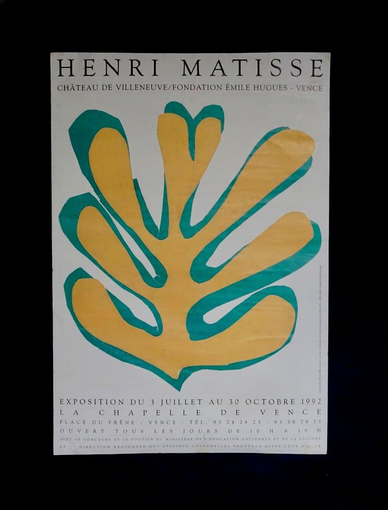 Image of henri matisse / leaf / 23/111
