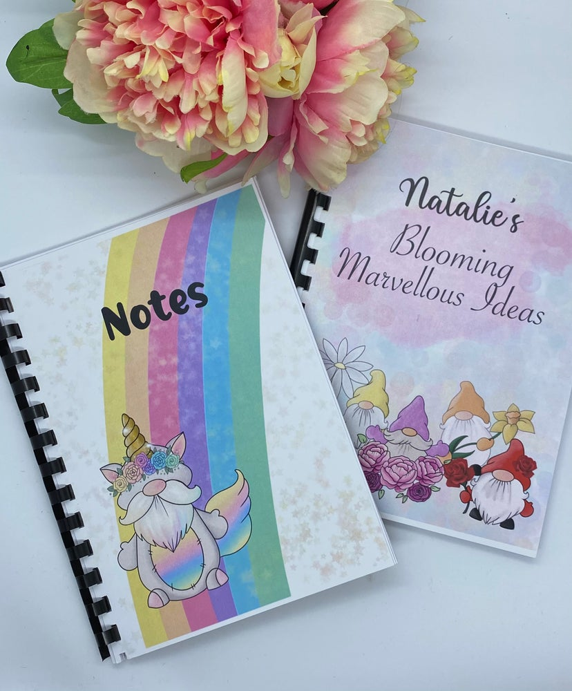 Image of Personalised Gnome Notebooks