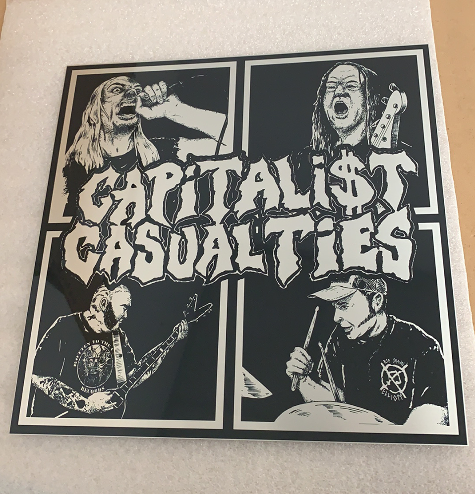 "Image of Capitalist Casualties ""Tribute"" Aluminum Print"