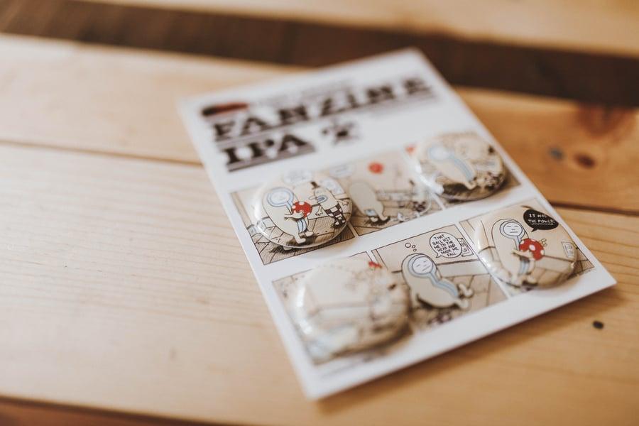 Image of Fanzine Pin Set